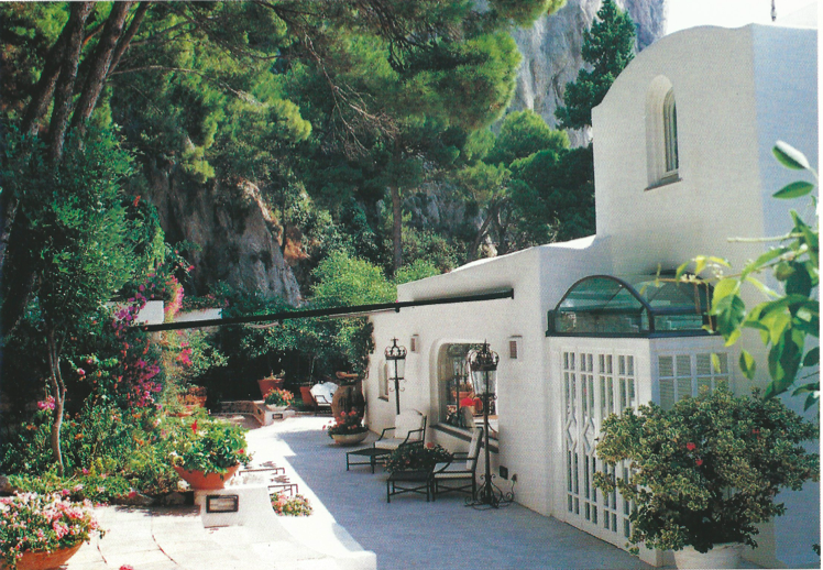 Island of Capri – Marina Piccola, exclusive Villa on the sea