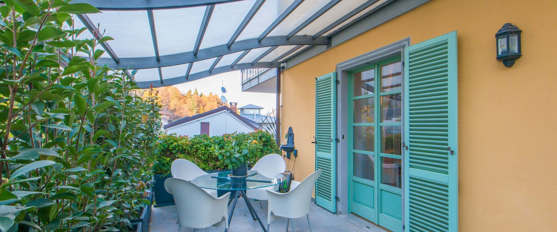 Cuneo – The privacy of your apartment in the greenery of the city
