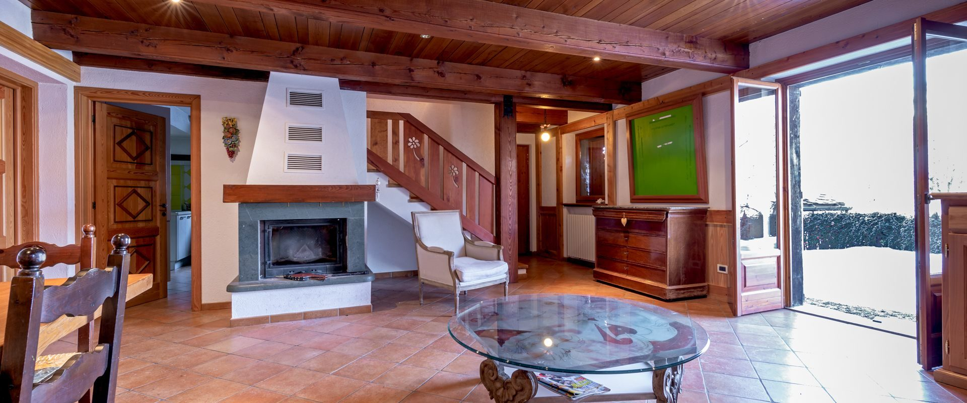 Chalet in S. Giovanni on the Olimpic slope